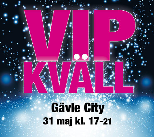 VIP-shopping 31 maj