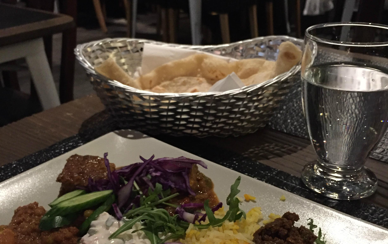 Ny Indisk restaurang i stan (med veggie-mat samt rabatt för studeneter)