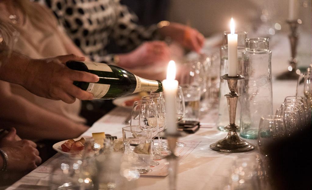 Champagneprovning på Elite Grand Hotel!