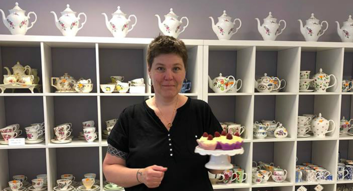 Afternoon tea längst Drottninggatan