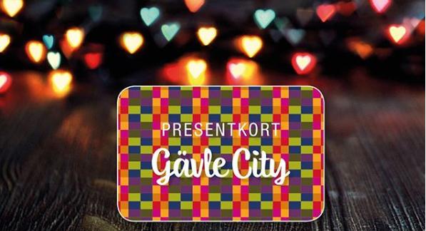 Gör någon glad… Med presentkort från Gävlecity!