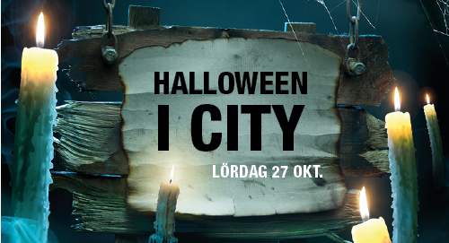 Halloween i City!
