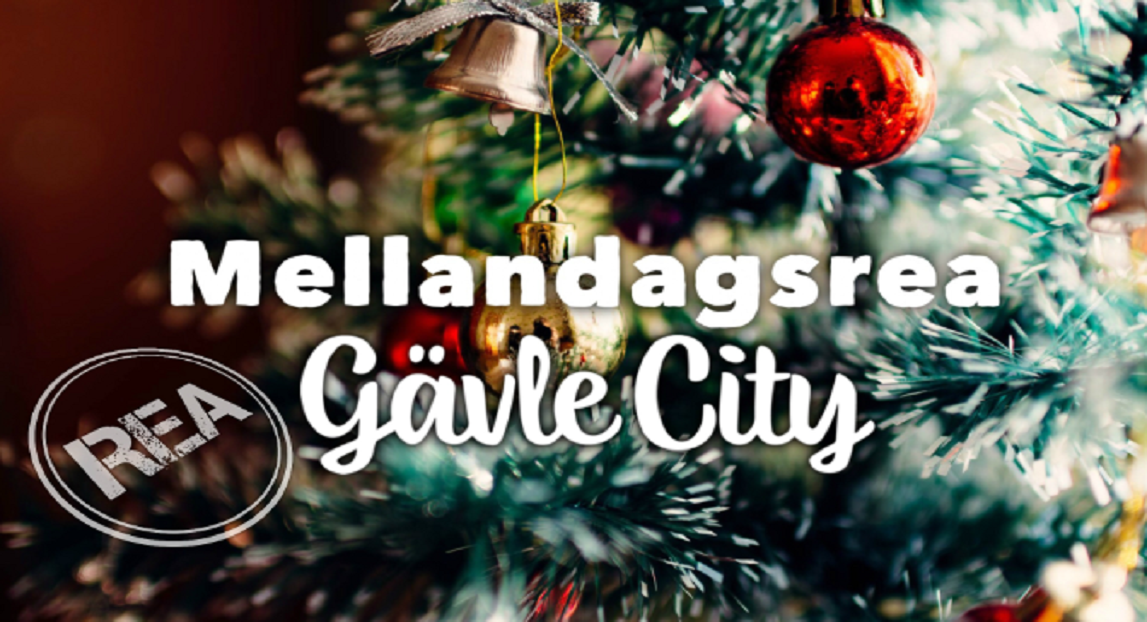Mellandagsrea i Gävle City!