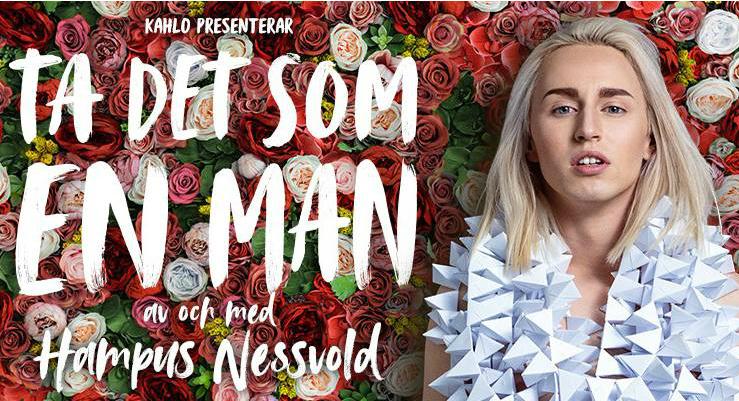 Hampus Nessvold med egen föreställning till Gävle Teater!
