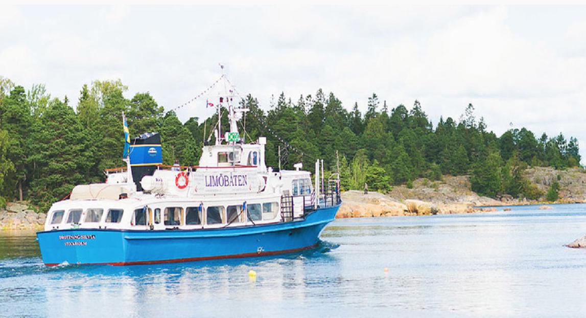 Limöbåten har premiär! Kombinera båttur med shoppingtur!