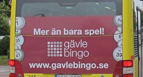 Gävle Bingo har flyttat till nya lokaler