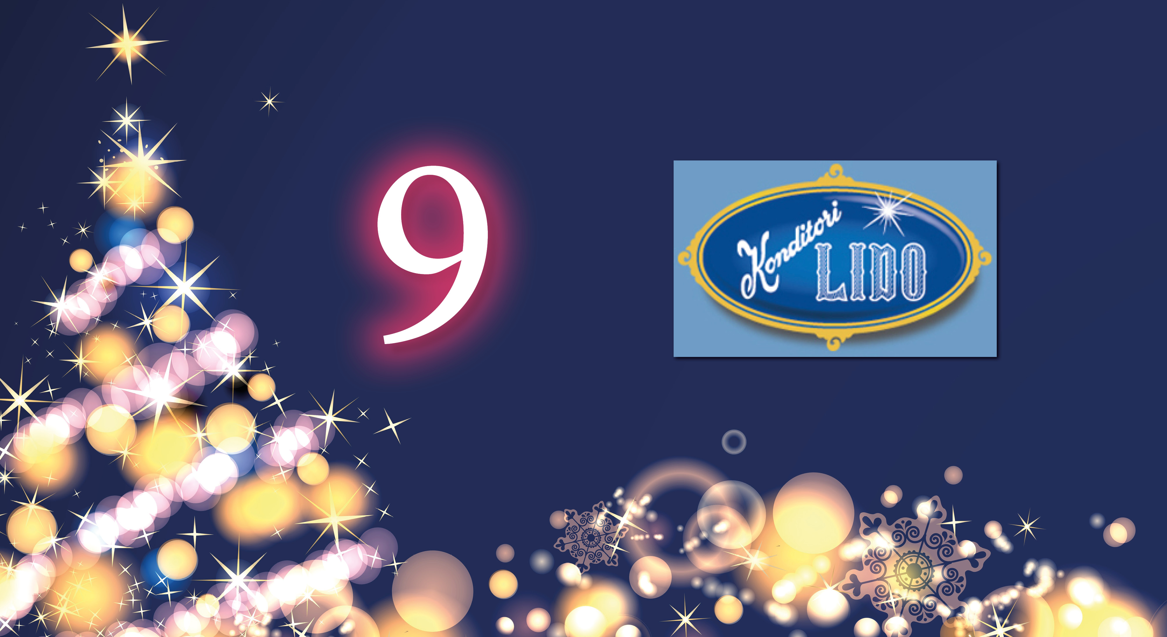 Lucka 9 – fikapaus i julshoppingen
