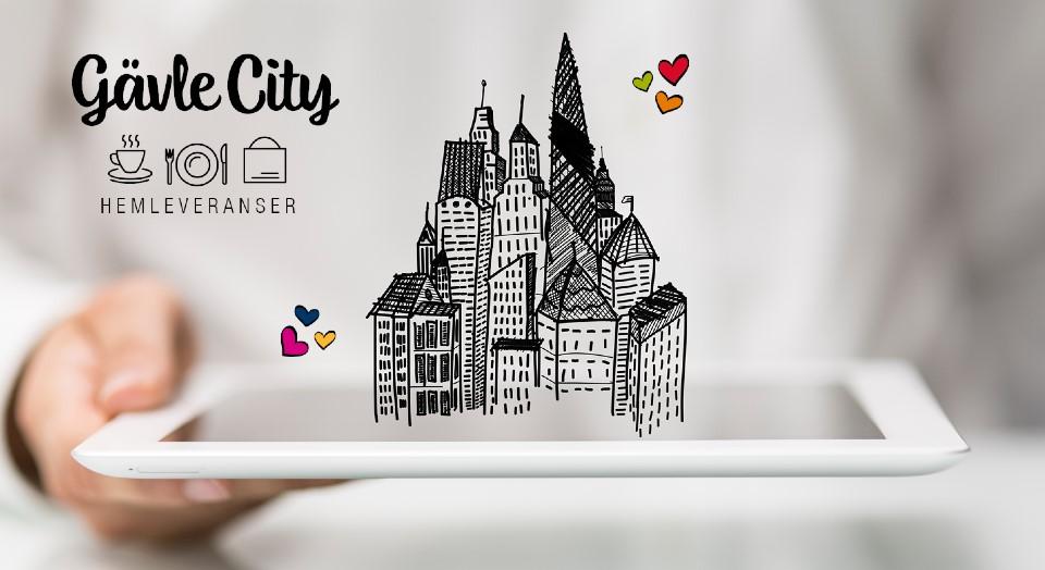 Hemleverans i CITY