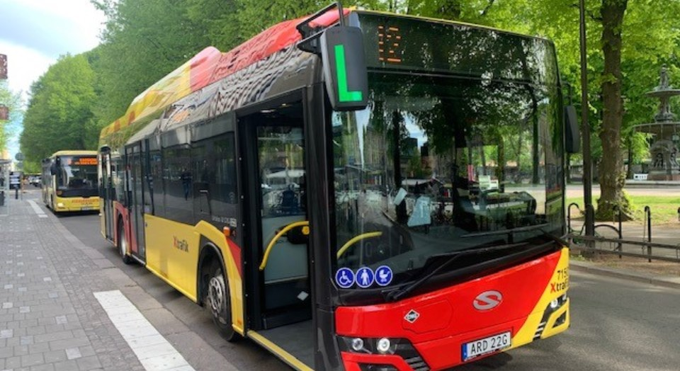 Nya Stadsbussar.