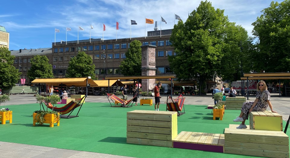 Pop up – Park mitt i CITY