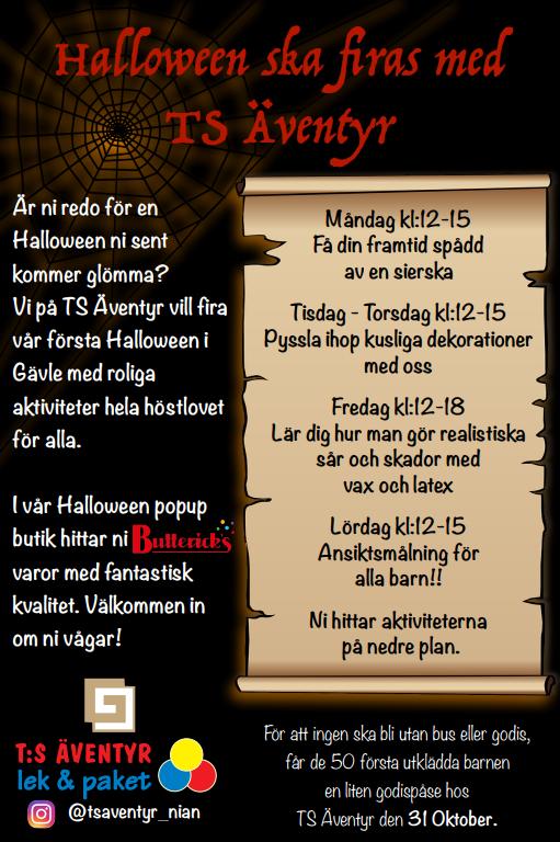 Halloween Butik Gävle